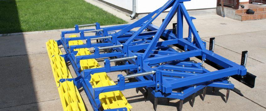 Teška drljača 3 krila bez preklapanja – radna širina 3,3 m3