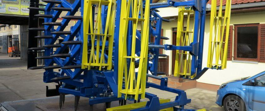Teška drljača 3 krila sa hidraulikom – radna širina 3,3 m3