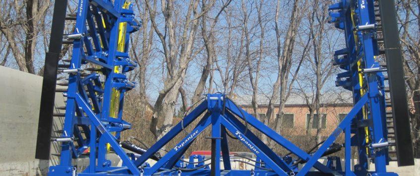 Teška drljača 7 krila – radna širina 7,7 m