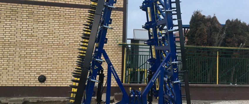 Teška drljača 8 krila – radna širina 8,8 m