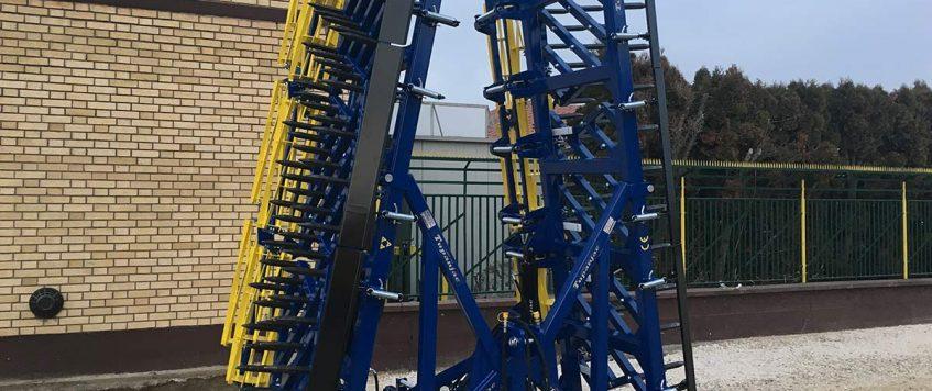 Teška drljača 8 krila – radna širina 8,8 m2