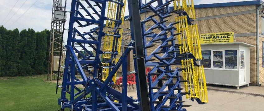 Teska drljaca radnog zahvata 9,9 metara 2