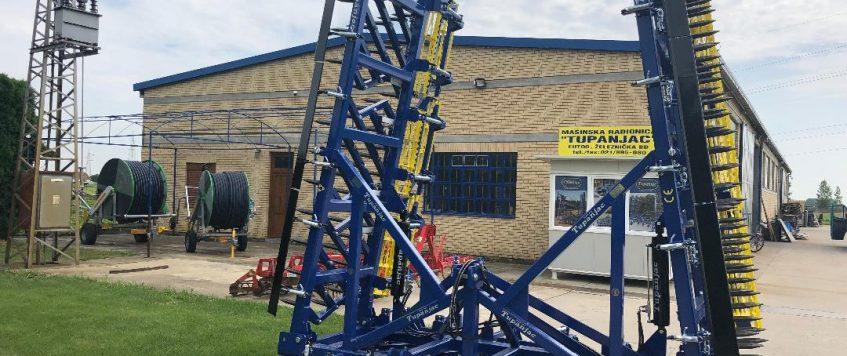 Teska drljaca radnog zahvata 9,9 metara