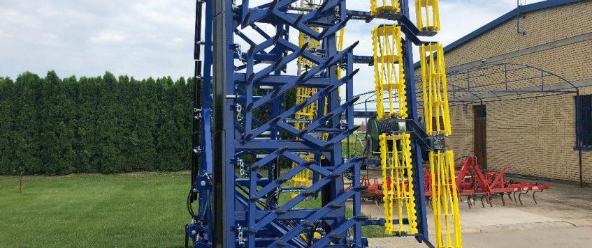 Teska drljaca radnog zahvata 9,9 metara3
