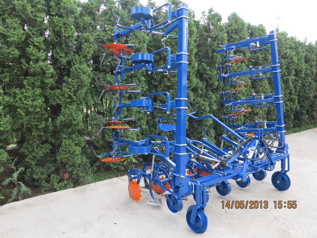 Međuredni kultivator – špartač 12 redi sa hidraulikom (za repu) 4