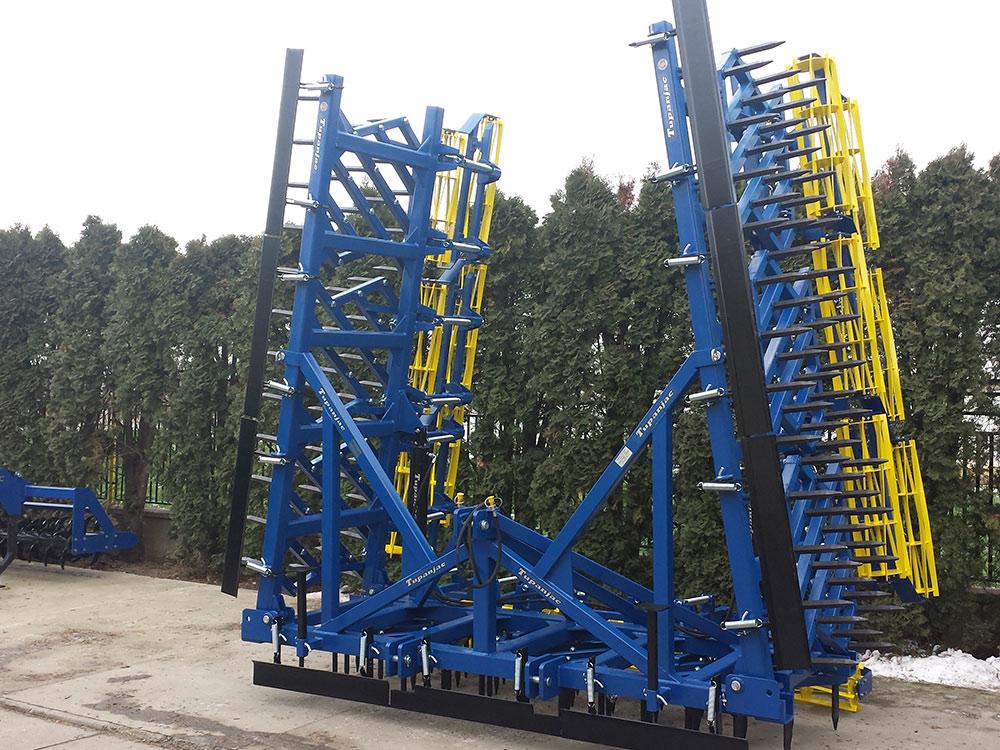Teška drljača 9 krila – radna širina 9,9 m2